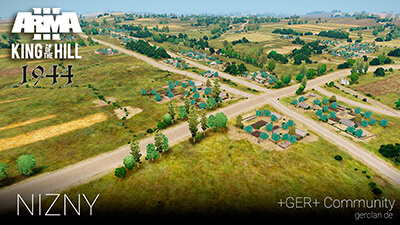 NIZNY |Arma 3 | King of the Hill 1944 | by Samatra